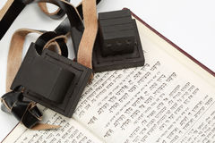 Tefilin and siddur Royalty Free Stock Image