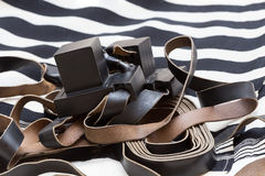 Tefillin and tallit. Royalty Free Stock Photos