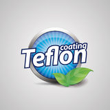 Teflon coating symbol Stock Photography