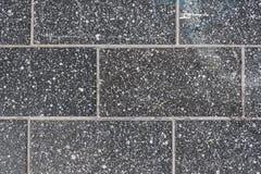 Tegel concrete zwarte Stock Fotografie