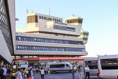 Tegel International Airport Stock Photography