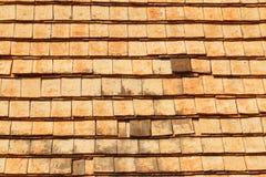 Tegel op het dak Royalty-vrije Stock Afbeeldingen