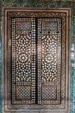 Tegel patern van het Paleis Topkapı in Istanboel, Turkije Royalty-vrije Stock Foto
