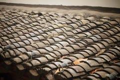 Tegel-Roofed huis Stock Fotografie
