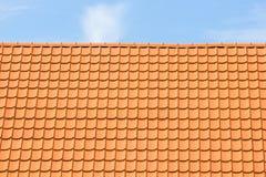 Tegel-Roofed huis Royalty-vrije Stock Foto's