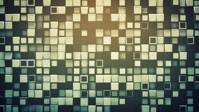 Tegel van dozen abstracte 3D illustratie als achtergrond royalty-vrije illustratie