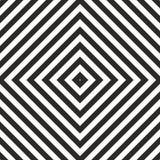 Tegel zwart-wit patroon Royalty-vrije Stock Afbeelding