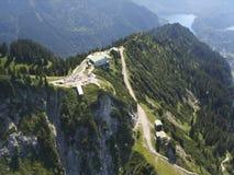 tegelberg станции горы Стоковые Фотографии RF