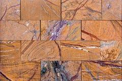 Tegelplatta av marmortextur Arkivbilder