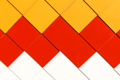 tegelplatta för färgmosaikmodell arkivbild