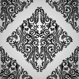 Tegelplatta för tapetBatikabstrakt begrepp med virvel Royaltyfri Foto