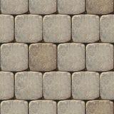 Tegelplatta-i stånd kullerstentextur - Arkivfoton