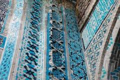 Tegelplattan av Malatya den storslagna moskén, Turkiet Royaltyfria Bilder