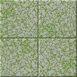 Tegelplattaspillror Fotografering för Bildbyråer