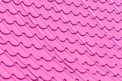 Tegelplattatak för bakgrund Arkivfoton