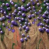 tegelplattatappningvägg Royaltyfri Bild