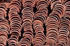 Tegelplattatextur Fotografering för Bildbyråer