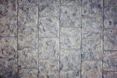 Tegelplattatextur för konkret trottoar Royaltyfri Bild