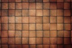 tegelplattavägg Fotografering för Bildbyråer