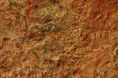tegelplattavägg för 2 lera Arkivbilder