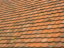 tegelplattor för 1 gammala tak Royaltyfria Foton