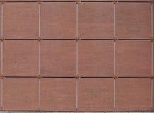 Tegelplattor för väggar av byggnader royaltyfri bild
