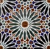 Tegelplattor från Toledo, Spanien arkivfoto