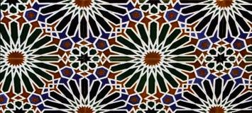 Tegelplattor från Toledo, Spanien arkivbilder