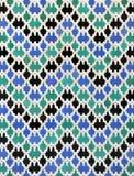 Tegelplattor glasade, azulejos, Alcazar i Sevilla, Spanien Royaltyfri Bild