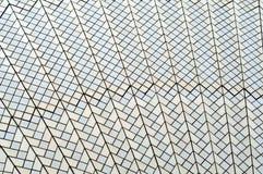 Tegelplattor på taket av Sydney Opera House Royaltyfria Bilder