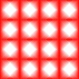 Tegelplattor som göras av den röda diamanten royaltyfri illustrationer