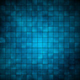 Tegels - blauw royalty-vrije stock foto's