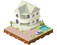 Tegels cottage3 Royalty-vrije Stock Afbeelding
