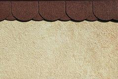 Tegels en muurachtergrond Stock Afbeeldingen