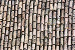 Tegels van een dak Royalty-vrije Stock Foto