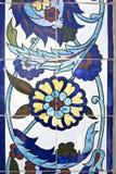 Tegels van Konak Moskee, Izmir Stock Afbeelding