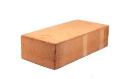 Tegelsten för röd lera Arkivfoton