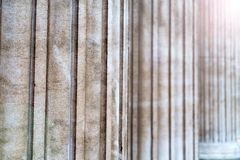 tegelsten i london den abstrakta texturen av en ancienvägg Arkivfoto