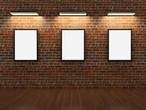 tegelsten inramniner väggen vektor illustrationer