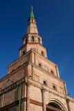 tegelsten kazan gammala tatarstan tower Arkivbilder