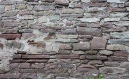 tegelsten medeltida wall71 Fotografering för Bildbyråer