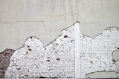 tegelsten skadlig röd vägg Royaltyfria Bilder