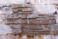 Tegelsten texturerar Royaltyfria Bilder