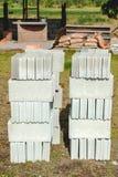 Tegelstenar för konstruktion Royaltyfri Fotografi