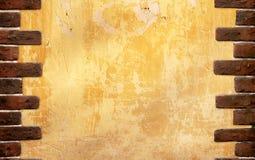 tegelstenar inramniner den gammala väggen Royaltyfri Bild