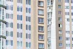 tegelstenar som bygger gammal red för facade Fotografering för Bildbyråer