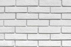 tegelstenar texture white Royaltyfri Bild