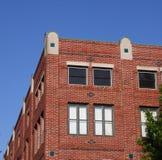 tegelstenbyggnad Arkivfoton