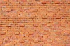 tegelstenclassicvägg Arkivfoto