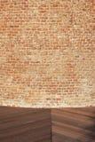 tegelstendetaljvägg Royaltyfria Foton
